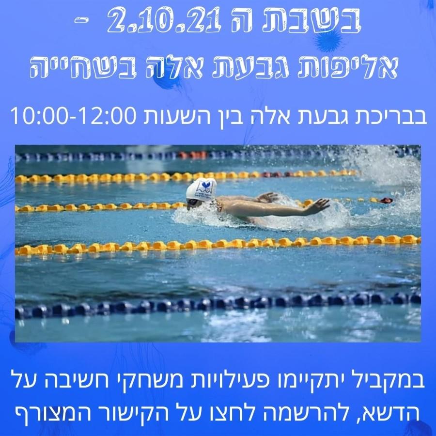 אליפות גבעת אלה בשחייה
